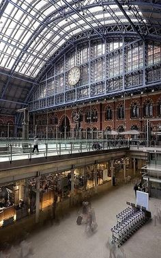St Pancras International Station, London | by Fergus McNeill