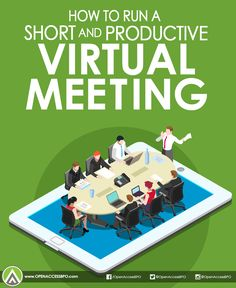 #VirtualMeetings provide #outsourcing companies and their clients a fast and easy way to communicate. Make the most of it by following these tips.