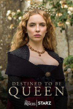 A York princess becomes a Tudor queen. #TheWhitePrincess premieres April 16 on STARZ.