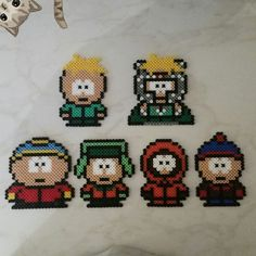 South Park hama beads by isshinsan