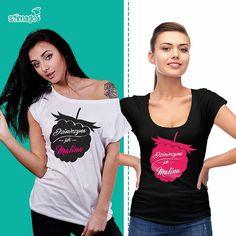 Dziewczyny żebyście były zawsze słodkie jak maliny! ;-) #tshirt #koszulka #znadrukiem #dzienkobiet #życzenia #malina #stimagopl https://goo.gl/8YCyeM