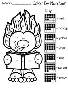 Trolls color by teen number more kindergarten colors, teaching kindergarten Preschool Math, Math Classroom, Fun Math, Math Activities, Maths, Classroom Ideas, Kindergarten Colors, Teaching Kindergarten, Teaching Resources