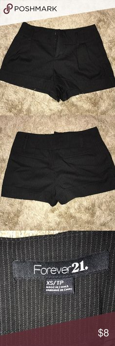 Forever21 Striped Shorts Size xs. Black with stripes Forever 21 Shorts