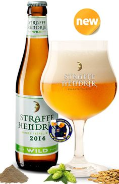 Our New Beer: Straffe Hendrik Wild 9° - 1/3L A very good beer to begin with, add a bit of a sour twist and it just gets better. Taste is fleeting, chewy sweet, prior to a dry, light sour tartness. A lick of bitterness. Big, medicinal, boozy palate. Not overwhelming, though. Finish is dry, light tart, and fairly bitter. It is a big beer, but.... Available online at: http://store.belgianshop.com/home/1437-straffe-hendrik-wild-9-13l.html