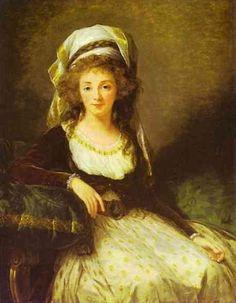Portrait of a Lady, 1789  Louise Elisabeth Vigee Le Brun