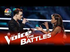 "The Voice 2015 Battle - India Carney vs. Clinton Washington: ""Stay"" - YouTube. So beautiful!!!"