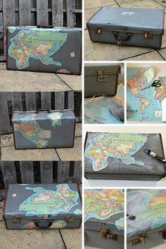 Map suitcase tutorial