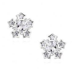 Stříbrné náušnice sněhová vločka Engagement Rings, Jewelry, Fashion, Rings For Engagement, Wedding Rings, Jewlery, Moda, Jewels, La Mode