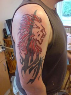 Leo The Lion Tattoos - pictures, photos, images