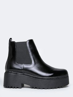 Jeffrey Campbell Universal   ZOOJI Black Chelsea Ankle Boots, Shoe  Collection, Bootie Boots, 0d0a98aa3a