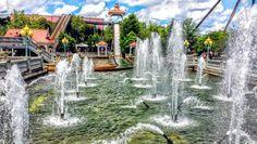 #panoramaview #panorama #kennywood #kennywoodpark #colorfull #fauntain #fun #water #arquitecture #arquitetura #WiljoelArt