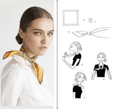 How To Tie An Hermes Scarf