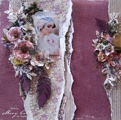 Mary's Crafty Moments: ''Celebrate This'' - DT Layout for Maja Design Jan...