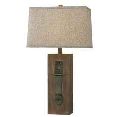 "Worcester 30"" H Table Lamp with Rectangle Shade"