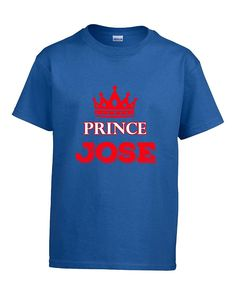 Cute Funny Jose Gift. Prince Jose - Boys T-shirt Kids S Royal -- To view further for this item, visit the image link.