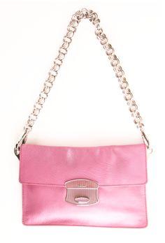 Pink Prada Wristlet.