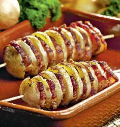 Frigărui din cartofi cu bacon
