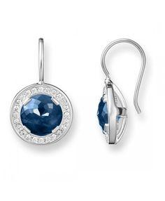 Thomas Sabo Light of Luna dark blue Earrings