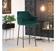 Cool Bar Stools, Industrial Bar Stools, Modern Bar Stools, Modern Interior, Home Interior Design, Aesthetic Bedroom, Furniture Decor, Dining Chairs, Dining Room