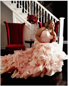 Plus Size Wedding Dresses That Will Bring A Tear To Your Eye: The Blush Bride