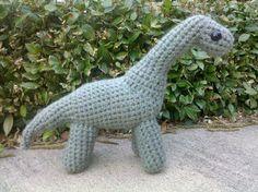 Knotty's Amigurumi: Longneck Dinosaur