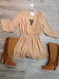 Fall Romper - Just in, they won't last long. Don't forget to check out our Pinterest boards and follow us on Pinterest. Get the last fashion news first @ #apricotlaneaugusta #fallfashion #newarrivals