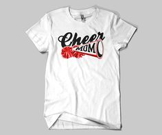 Cheer Mom Tee by FamLeeShoppe on Etsy