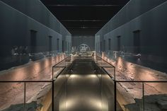 A subterranean Roman temple in London where a mysterious cult worshipped has been restored in an immersive museum experience using light, haze and sound.