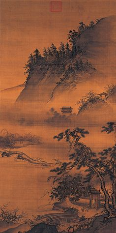 Returning Late From A Spring Outing - Tai Chin (1388-1462)