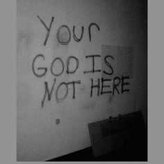 Atheism, Religion, God is Imaginary. Your god is not here. Arte Dope, The Wicked The Divine, Arte Obscura, Southern Gothic, Aesthetic Grunge, Devil Aesthetic, Gothic Aesthetic, Oeuvre D'art, Creepy