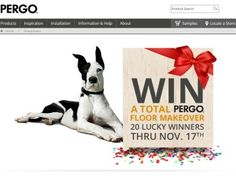 Pergo Floor Makeover Sweepstakes preview image