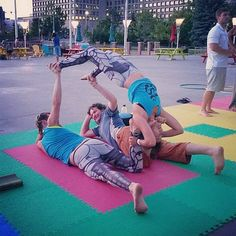 Some acro fun from the Circus Jam on Tuesday.  The circus jams are free and are held at City Hall from 7-9pm. Come join us and play! :) #Fun #Smile #Cute #SmileyOm #Acroyoga #AcroyogaOttawa #PartnerAcrobatics #PartnerYoga #Yoga #Backbend #Teamwork #Exercise #AcroCommunity #Smile #Friends #DoubleBase #BellyBasing #Ottawa #613 #OttawaYoga