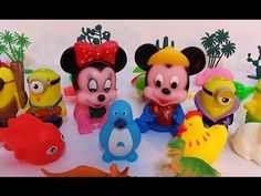Disney Toys Collector   Mickey Mouse Toys Videos   Animal Toys for Toddlers
