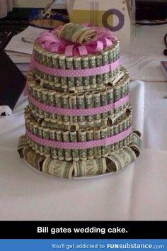 Bill gates' wedding cake