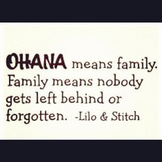 I love this movie. #family #ohana #disney #lilo #stitch