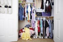 Items Inside of Closet - Fuse/Getty Images  http://personalorganizing.about.com/od/Clutter/tp/How-Long-To-Keep.htm