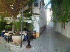 A bar in Dalt Vila