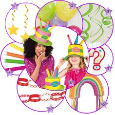 Inspiración para un cumpleaños divertido, en blog.fiestafacil.com / Inspiration for a fun birthday party, from blog.fiestafacil.com