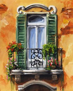 Balcony of Ravenna by Edit Voros