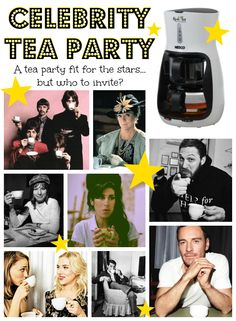 We have a Nesco Real-Tea Tea Maker to give away! Check out how you can win! Tea Party, Celebrity, Fitness, Check, Photos, Pictures, Celebrities, Celebs, Keep Fit
