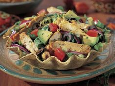 Southwestern Salad with Chicken. Looking forward to this one. Southwestern Chicken Salads, Foster Farms, I Love Chocolate, Chowders, Recipe Box, Stew, Great Recipes, Soups, Tacos