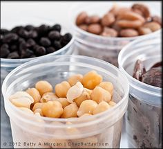 After cooking dried beans, I've started freezing them. They defrost perfectly without changing the texture or taste. I use Ball Freezer Jars with twist tops or quart freezer bags. Drain all the liquid first and cool the beans before freezing.
