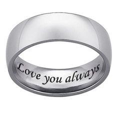 http://dyal.net/mens-titanium-wedding-rings Engraved Titanium Wedding Rings for Men