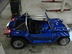 VW Beach Buggy - snap off rat og rustfri bundplader mm.