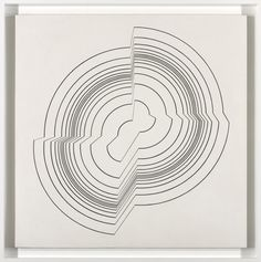 Bridget Riley Broken Circle. 1963.