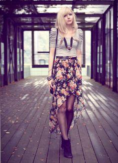 romantically floral