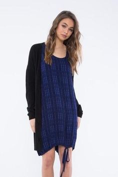 STAPLE CLOTH Beyond DressDescriptionIts easy to see why the Beyond Dress is one of out top selling styles.The easy shape and relaxed silhouette makes this style the perfect option for everyday wear. Easy Shape, Florence, Boutique, Navy, Sweaters, How To Wear, Clothes, Tops, Dresses