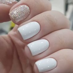 2020 Nail Trends Colors Ideas - Das sch nste Bild f r cute Nails d - colors ideas nail trends Coffin Nails, Gel Nails, Acrylic Nails, Nexgen Nails Colors, Shellac Nails Fall, Shellac Manicure, Winter Nails, Spring Nails, White Summer Nails
