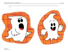 ghost decorations for halloween printable activity for kids spoonful - Halloween Printables Decorations