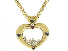 Chopard Happy Diamond Heart Necklace in 18K